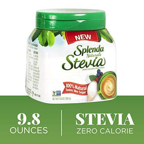 SPLENDA Naturals No Calorie Stevia Sweetener, 9.8 Ounce Jar Splenda