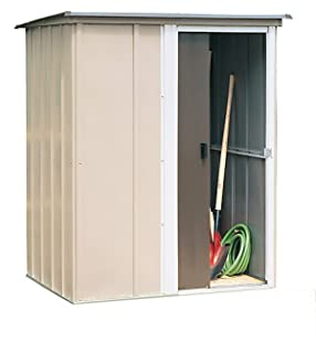 arrow shed bw54 brentwood 5 feet by 4 feet steel storage shed - Garden Sheds 6 X 5
