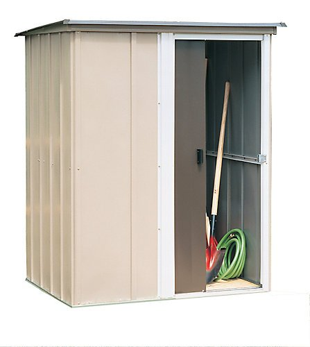 Arrow Shed BW54 Brentwood 5-Feet by 4-Feet Steel Storage Shed
