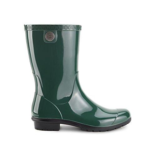 (UGG Women's Sienna Rain Boot, Pine, 7 B US)