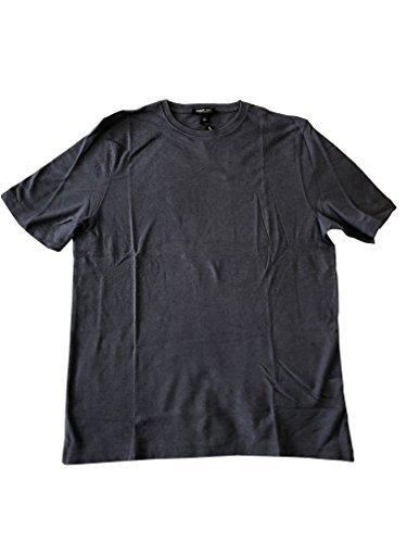541c4b88 Image Unavailable. Image not available for. Color: Men's 100% Peruvian Pima  Cotton Short Sleeve Crew Neck T-Shirt Slate Gray Medium. Kirkland Signature