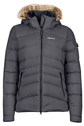 Marmot Ithaca Women's Down Puffer Jacket, Fill Power 700, Dark Steel ,X-Small