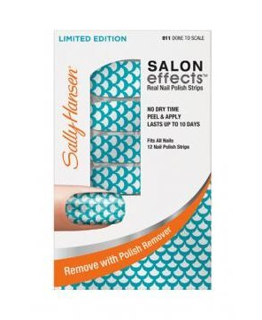 Sally Hansen Real Nail Polish Strips ~ Done to Scale 011 ~ Limited Edition (Essie Nail Polish Strips)