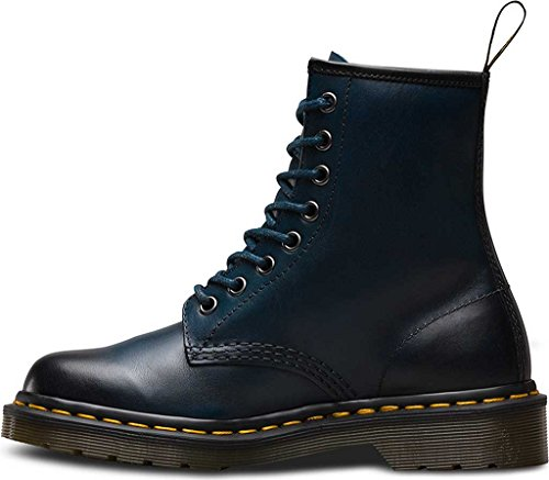Leather Martens Antique Eyelet 8 Blue EU Temperley 36 Boots Womens Dr 1460 4gxq8RR