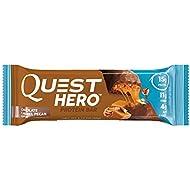 Quest Nutrition Hero Protein Bar, Chocolate Caramel Pecan, Gluten Free, 2.12 oz (10 Count)