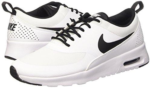 Nike Thea Da Weiß black White 102 Corsa Max Scarpe Donna Air white Blanco rUpwq1r