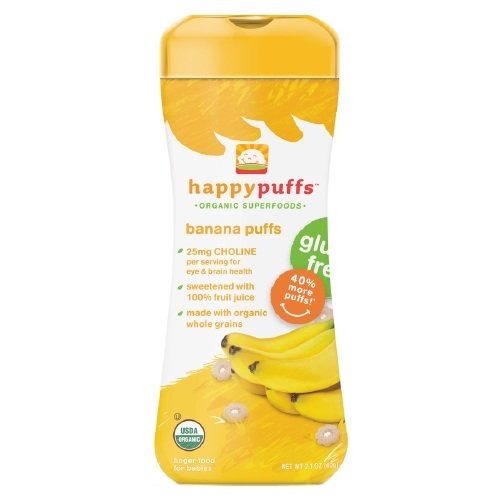 Happy Bites Banana Puffs Og2 2.1 Oz