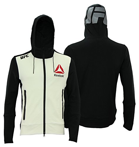 Reebok UFC Mens Full Zip Walkout Hoodie, X-Large
