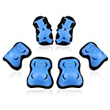 Bosoner Kids/Youth Knee Pad Elbow Pads Guards Protective Gear Set for Rollerblade Roller