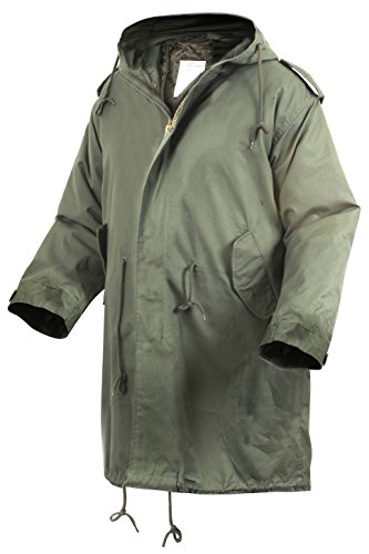 M-51 Fishtail Parka, Olive Drab, Large