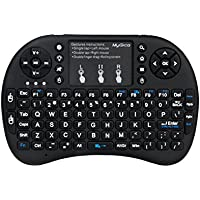 MyGica KR-800 RF Wireless QWERTY Keyboard with Backlit keys | TouchPad for Air Mouse Function