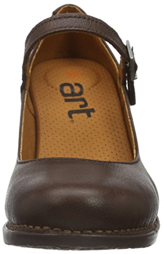 ART Damen Genova Mary Jane Halbschuhe Braun (Brown)