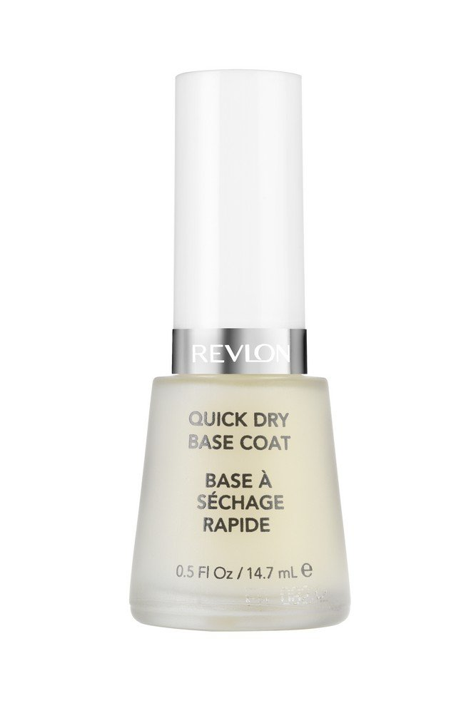 Revlon 2-in-1 Base & Top Coat Nail Care, 0.5 Fluid Ounce 7741-00