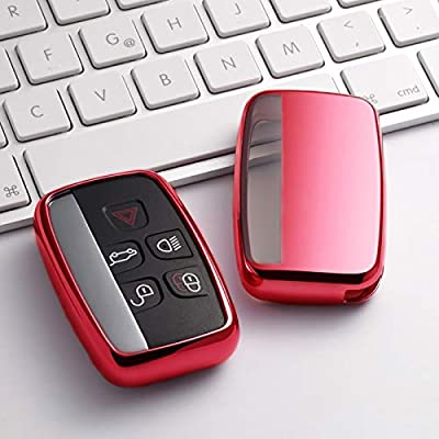 Black Key Cover Case for Range Rover Smart Remote Fob 5 Button Sport Evoque Vogue LR4 iscovery 4 Land Rover Shell