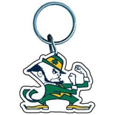 Notre Dame Fighting Irish Key Ring - - Notre Dame Bag Gym