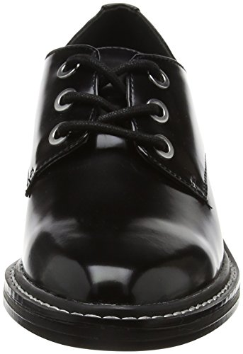 Steve Little Lace Up Shoe Negro de Zapatos Madden Cordones Mujer Derby Black para RrFWnr