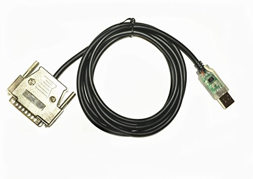 EZSync FTDI Chip Usb to RS232 Serial Adapter Cable, CNC Controls Programming (25 Pin Parallel Interface)