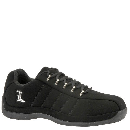 Lugz Mens Tempest II Sneakers Black / Silver pq8n7Kfx6