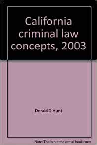 concepts of criminal law Start studying key terms and concepts: inside criminal law learn vocabulary, terms, and more with flashcards, games, and other study tools.