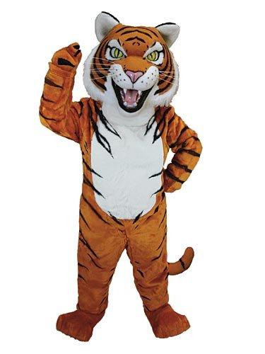 Siberian Tiger Mascot Costume -