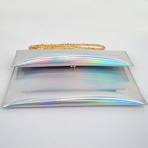 Bag body Cross Women Silver Bag Editha Mini Drawstring Glitter 63 Bag Satchel Holographic Sling pBWIWxwXqn