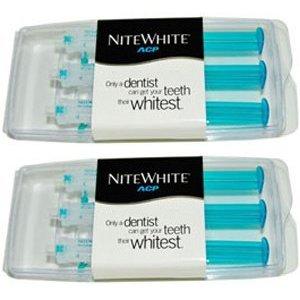 NiteWhite ACP Bleaching Gel 22% 2.4ml 6 Pack (Packaging May Vary)