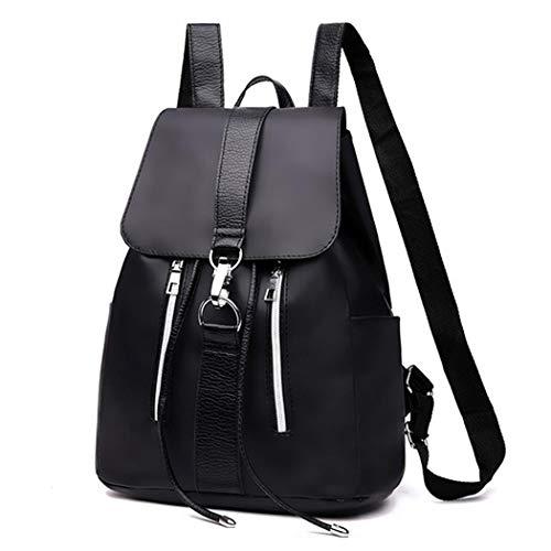 Alisena Women Fashion Buckle Backpack Purse Nylon Ladies Lightweight Drawsring Travel Shoulder Bag
