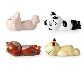 Astra tienda Creative Cartoon Animal palillos resto cuchara ...