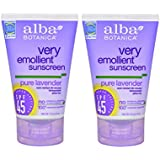 Alba Botanica Sunscreen Lavender Spf 45 (4 oz)