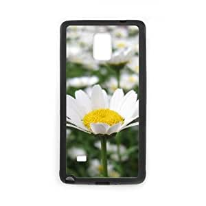 DIY Daisy Case, DIY Case Cover for samsung galaxy note 4 with Daisy (Pattern-4)