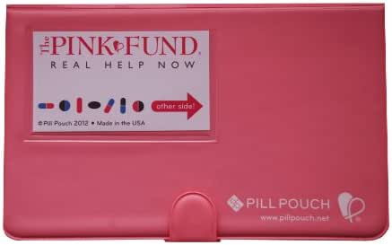 Pill Pouch - The Pink Fund - Pink