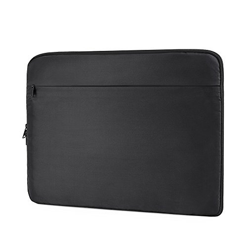 ATAILORBIRD Laptop Sleeve 13-13.3 Inch, Ultra-Light Shockproof Spill-Resistant Carrying Case Compatible HP/Asus/Dell/Acer/Lenovo Chromebook, Tablet with Hidden Handle - Black