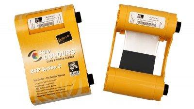 Zebra 800033-850 KdO Black Dye-SUB with Overlay Ribbon for ZXP Series 3 Printers