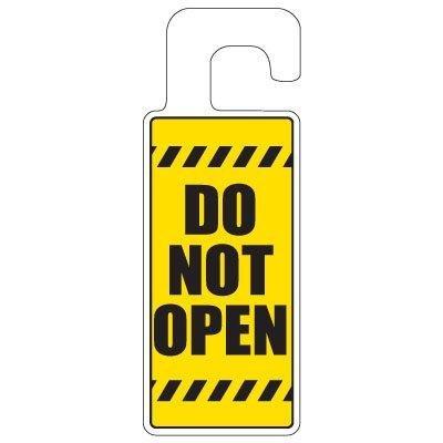 Doorknob Hanger-do Not Open