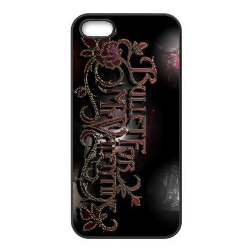 Bullet For My Valentine 010 coque iPhone 5 5S cellulaire cas coque de téléphone cas téléphone cellulaire noir couvercle EOKXLLNCD22588