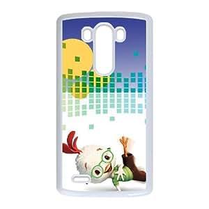 LG G3 Cell Phone Case White Chicken Little 3D Back Phone Case Cover XPDSUNTR03352