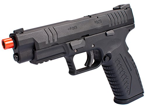 Evike - WE-Tech Extreme Tactical DM40 Airsoft GBB Gas Blowback Pistol - (41099) by Evike
