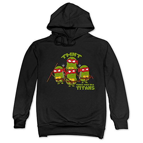 Feniay Teenage Minion Ninja Titans Men's Hooded Sweatshirt]()