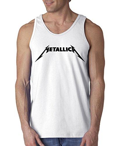 New Way 778 - Men's Tank-Top Metallica Beavis Butt-Head Parody Logo Large -