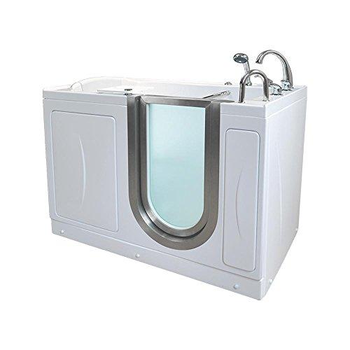 Ella's Bubbles HM3118-HB Royal Hydro and Microbubble Massage Acrylic Walk-In Bathtub 32