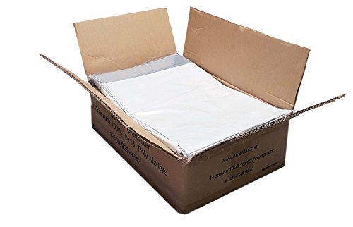 iMBAPrice 1000 - 10x13 Premium Matte Finish White Poly Mailers Envelopes Bags (iMBA-4PM-1000)