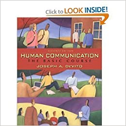 Book Human Communication 11th (Eleventh) Edition byDeVito