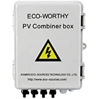 4 String Solar Combiner Box Surge Lighting Protection Grid-Connected & Off-Grid