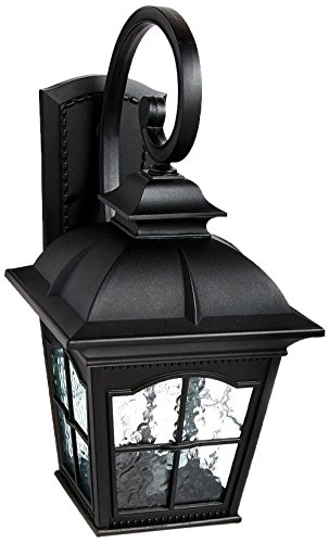Large Colonial Outdoor Lighting (Trans Globe Lighting 5420 BK Outdoor Briarwood 25.5