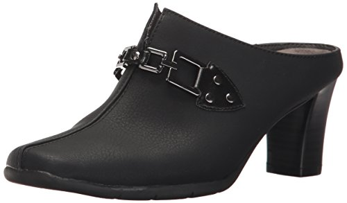 Aerosoles A2 Womens Matrimony Mule Black Combo
