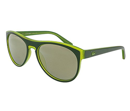Lacoste Polarized Sunglasses - L782S 002 BLACK-GREEN - Lacoste Sunglass