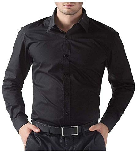 BEING FAB Men #39;s Regular fit Casual Shirt