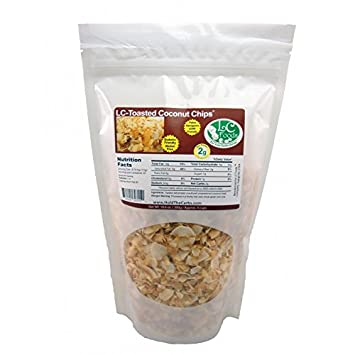 Toasted Coconut Chips - Unsweetened - LC Foods - All Natural
