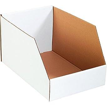 Barco ahora suministro snbinj121810 Jumbo Open Top Bin cajas, 10 cm x 18 cm de
