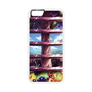 Pokemon Tree Shelves iPhone 6 4.7 Inch Cell Phone Case White Delicate gift AVS_632632